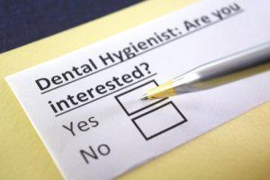 community dental hygienist