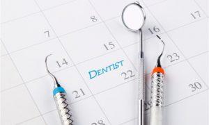 keep a regular schedule for your dental visits