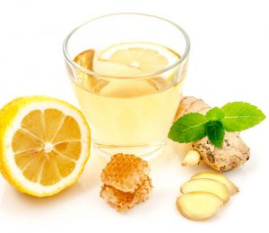 lemon and peppermint for nausea